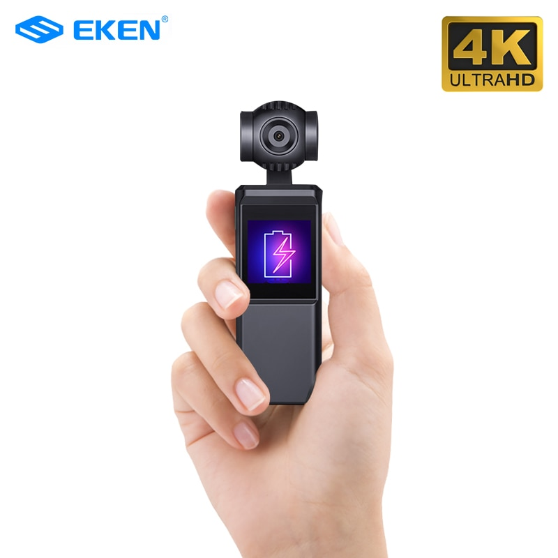 ZWN V8 3-Axis 4K HD Handheld Gimbal Camera Stabilizer HI3559V200 + IMX258 Smart Track Built-in Wi-Fi