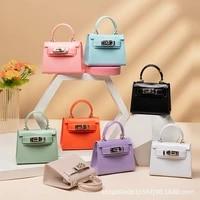 fashion mini shoulder bag ladies jelly bag handbag receiving milk bag cosmetic bag