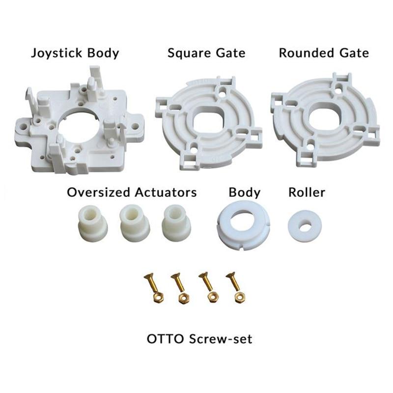 أركيد أوتو لتقوم بها بنفسك V5 النسخة اليابانية عدة لسانوا JLF وهوري هايابوسا ترقية مجموعات لسانوا JLF-TP-8YT هايابوسا عصا التحكم