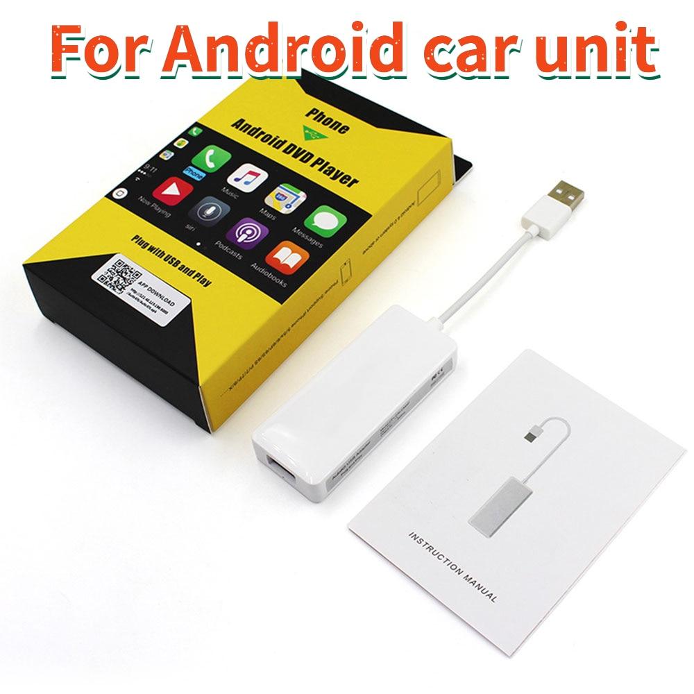 Проводной смарт-ключ Carlinkit CarPlay, ключ для iPhone/телефона Android для автомобиля, головное устройство (система Android) Airplay/Mirror/IOS13