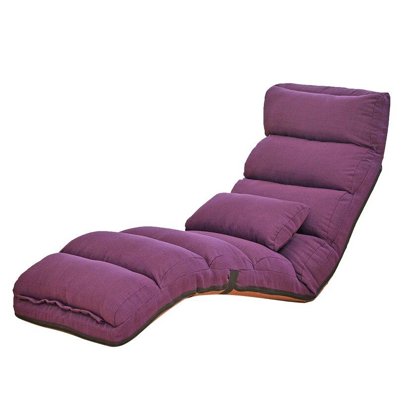 H1 sofá perezoso Tatami silla reclinable plegable creativo sofá de ocio plegable fácil de ahorrar espacio y fácil de llevar 205*56*20cm barato