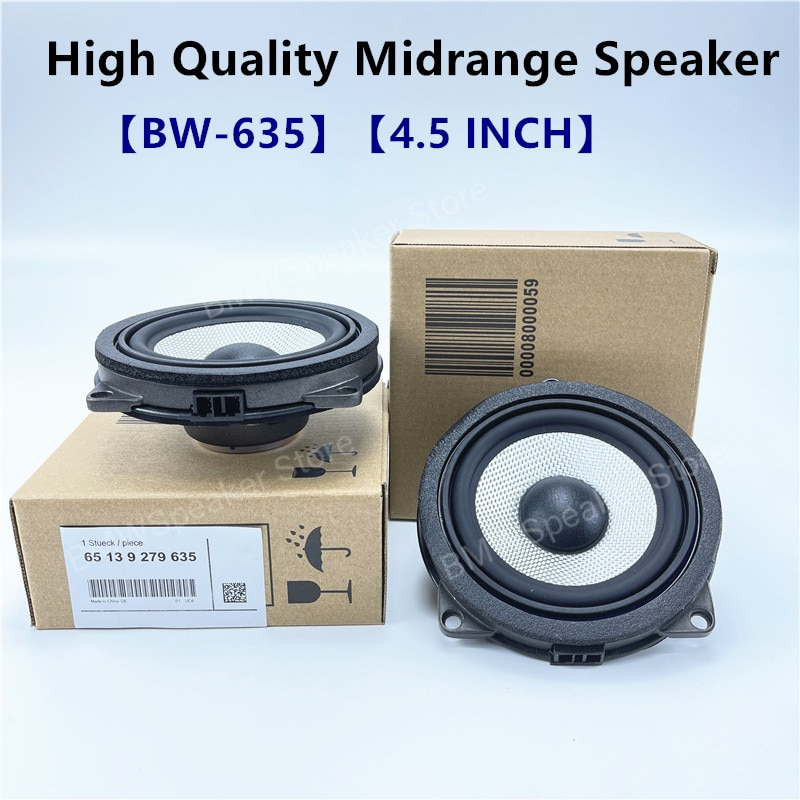 AliExpress - 4.5 inch door midrange speaker For BMW G30 G20 F20 F25 F30 F32 G01 F48 F34 GT X1 X3 X4 series car loudspeakers audio stereo Horn