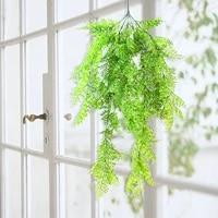 Plantes artificielles pour la maison  Simulation de mariage  anneau de guirlande  petite couronne de feuille depine  decoration de porte  feuilles de lierre suspendues
