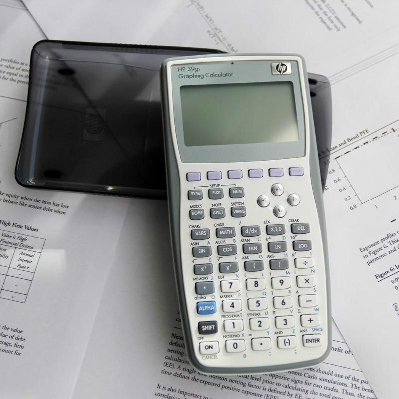 New Graphic Calculator High Quality Hp39gs Function Calculator Scientific Calculator For Hp 39gs Calculator Sat / Ap Exam