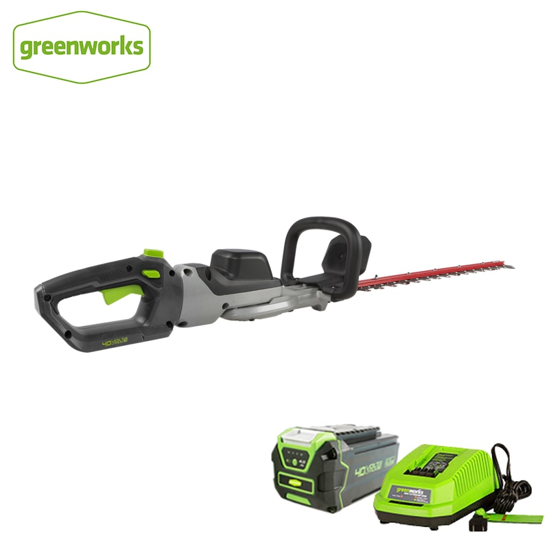Greenworks 40 فولت أداة تشذيب الحافة 350 واط اللاسلكي العشب قادين خفيفة الوزن منخفضة الضوضاء بطارية كهربية المقلم حديقة المقصات