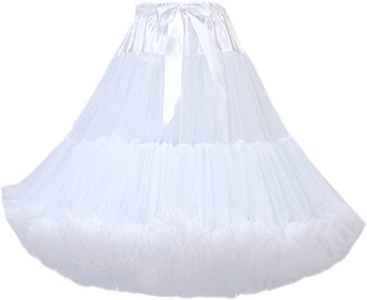 Женская Пышная юбка-пачка до колен, балетный костюм, Тюлевая Нижняя юбка до колена, подъюбник, юбка для женщин, 50-х годов alcoolique юбка до колена