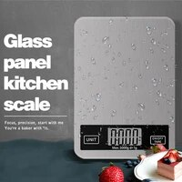 5kg stainless steel electronic scales high precision kitchen scale food postal balance measuring tool lcd home kitchen scale