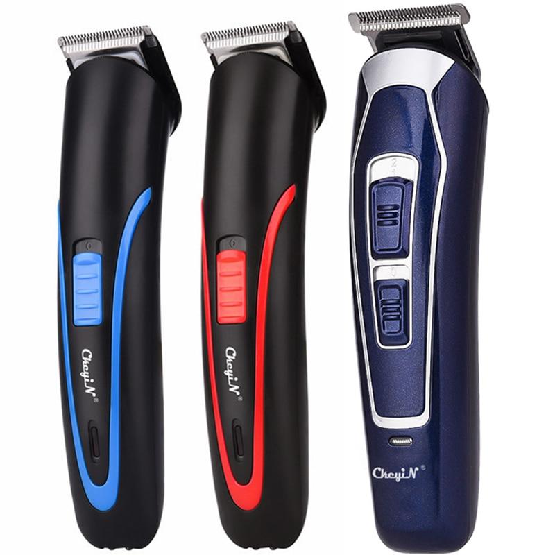 CkeyiN Rechargeable Barber Hair Trimmer for Men Low Noise Shaving Hair Razor Cordless Hair Clipper H