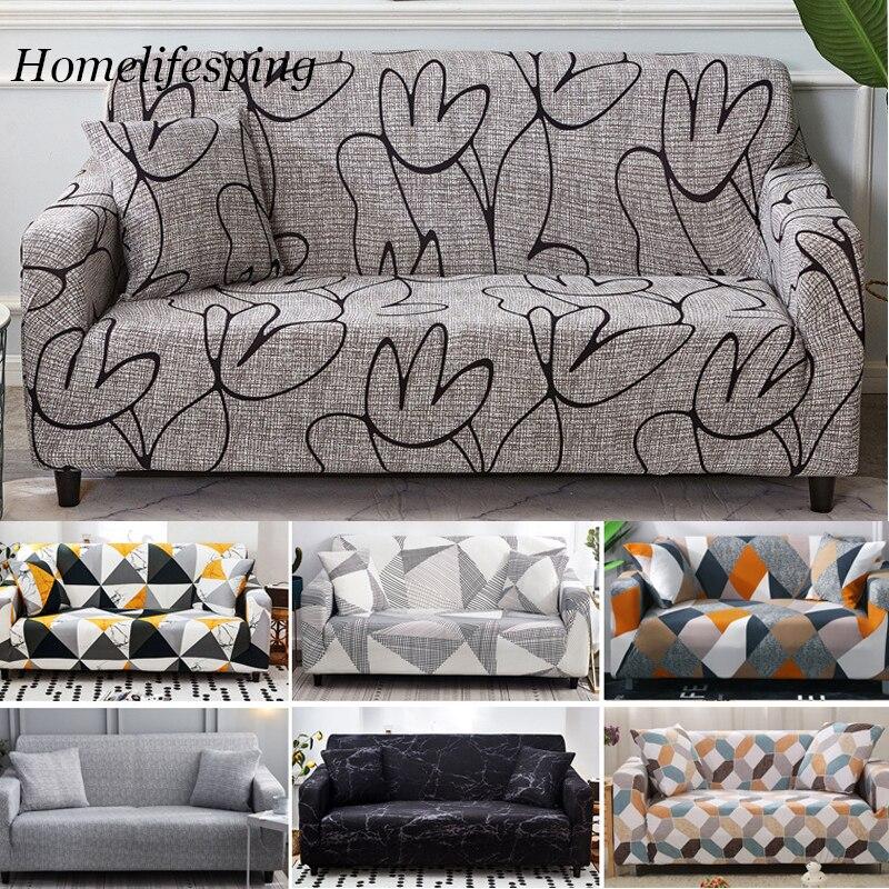 تمتد غطاء أريكة أغطية مرنة شاملة حافظة أريكة لمختلف شكل أريكة lovesate كرسي L-نمط أريكة الغلاف