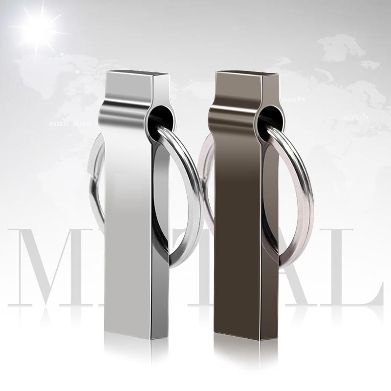 Unidad Flash USB de Metal 2,0 Pendrive 8GB 16GB 32GB USB Flash...