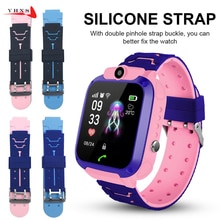 16MM Replace Smart Watch Strap for Q528 T7 Y21 Q16 Strap Child Student GPS Tracker Two-Color Silicon