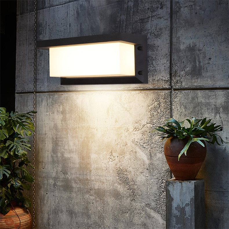 8M Outdoor Wall Lamps Fixture Modern LED Sconce Waterproof Contemporary Creative Decorative For Corridor Balcony Courtyard enlarge