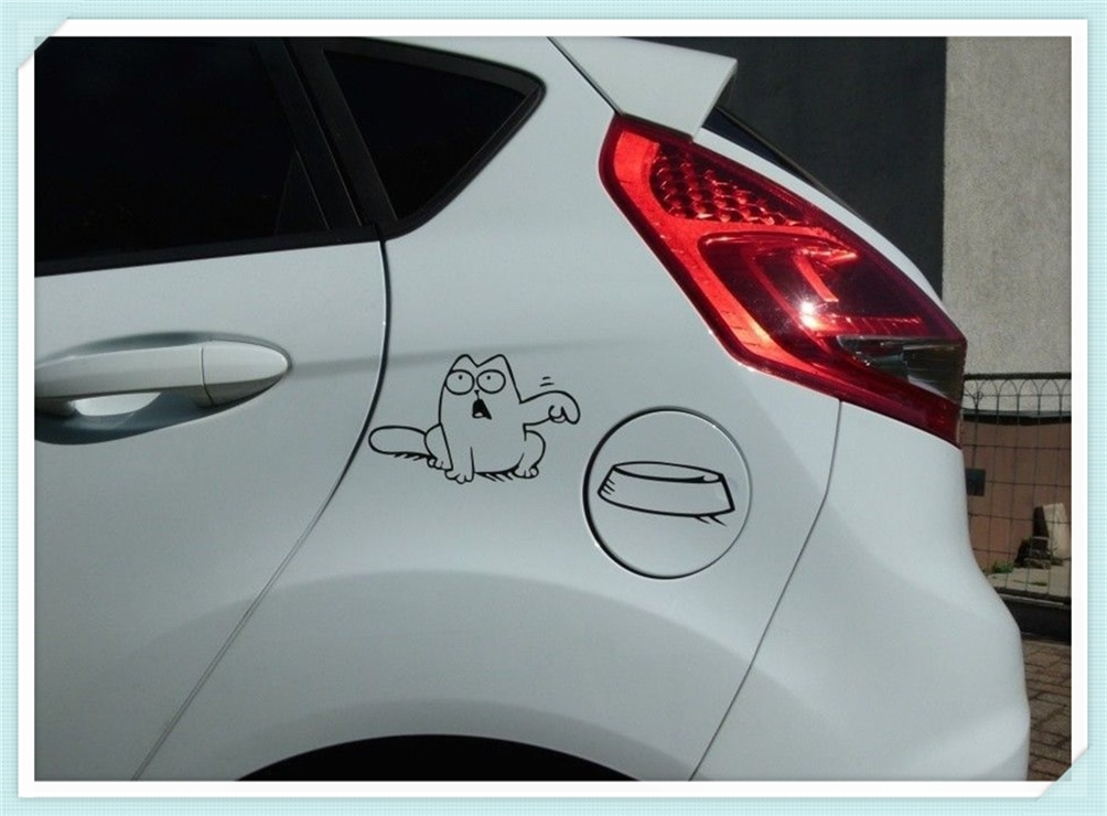 1 piece funny vinyl auto sticker wall laptop fuel tank car shape decal for BMW F20 E92 E38 E91 E53 E70 X5 X3 X6 M M3 M5