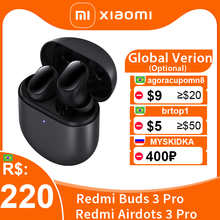 Глобальная версия Xiaomi Redmi Buds 3 Pro TWS Bluetooth Наушники Redmi Airdots 3 Pro Беспроводные наушники ANC IPX4 для K40 Note 10 Pro