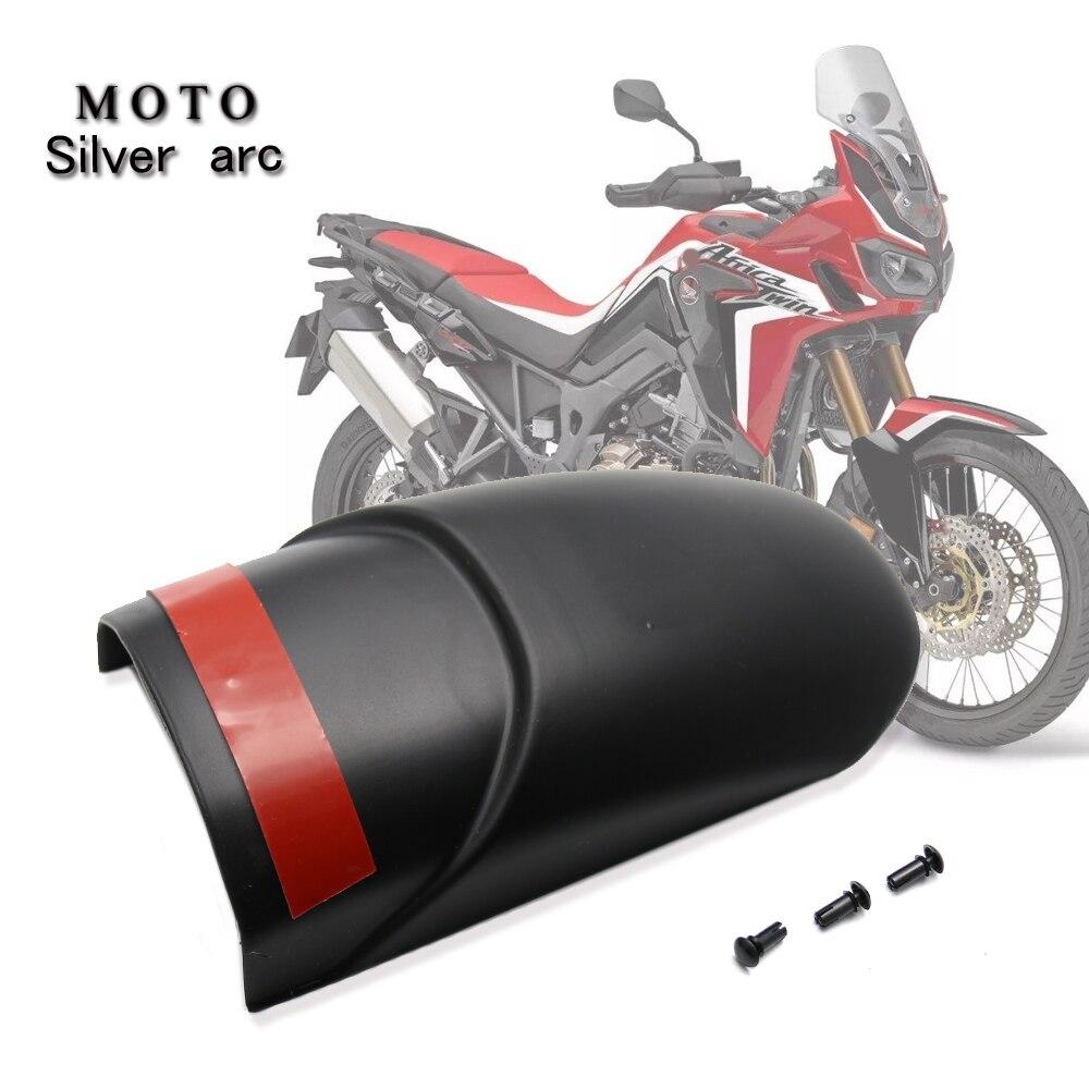 CRF1100 L textura de fibra de carbono guardabarros frontal para motocicleta extensión trasera para Honda CRF1100L África Twin 2020