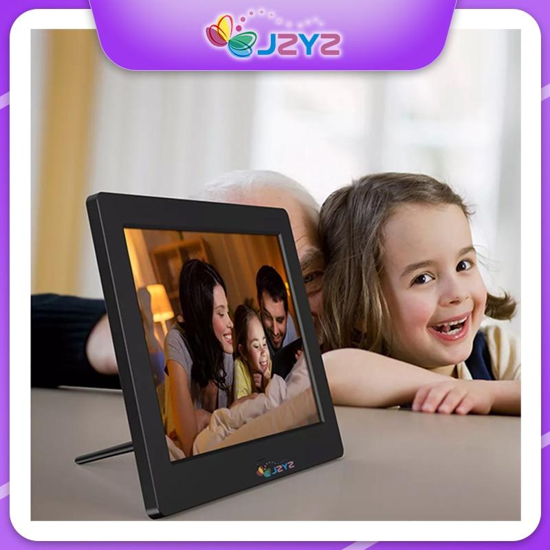 8  inch Screen Digital Photo Frame HD 1024x768 Remote Control Functional Picture Video Player Music Calendar Clock Album Gift