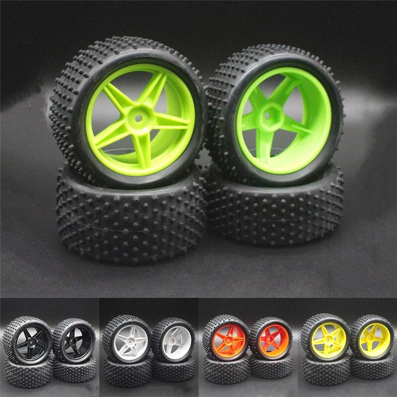 83 мм резиновые 1/10 RC багги задние шины и колесные диски шестигранный 12 мм для HPI Himoto HSP Задняя мойка автомобильные детали 94106 94166