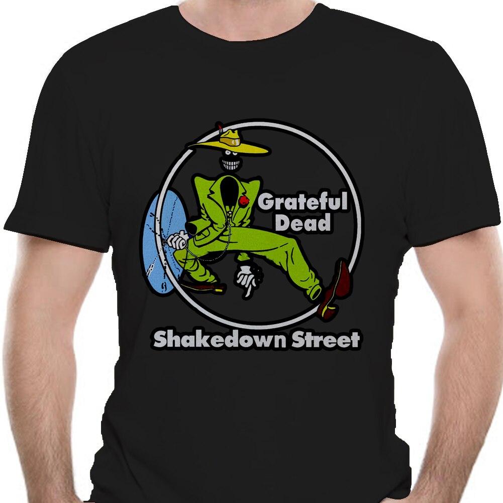 Vintage 1978 Grateful Dead Shakedown Street Shirt Nachdruck
