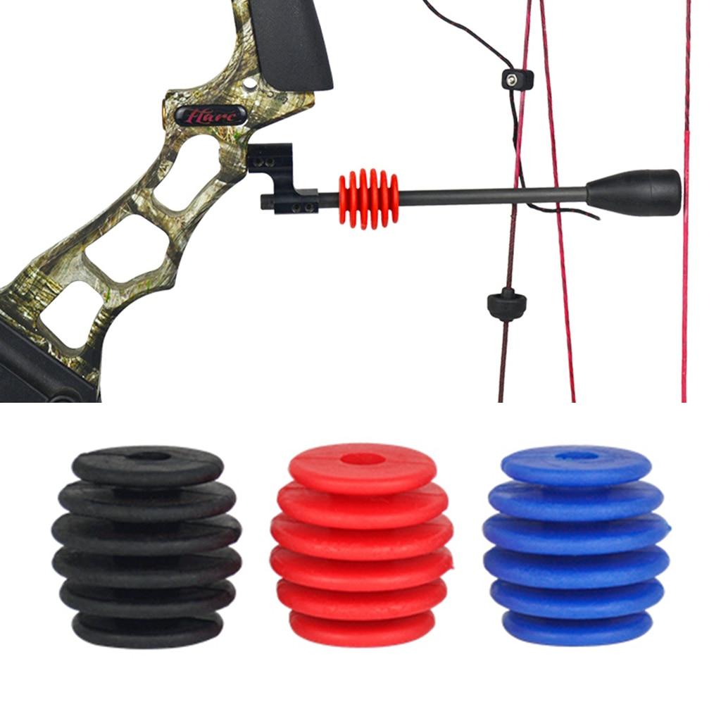 Soporte estabilizador con soporte y herramienta de tiro con arco compuesto