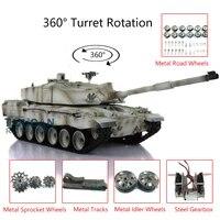 116 heng long 6 0 challenger ii rc tank 3908 360 turret metal tracks th12908 smt4
