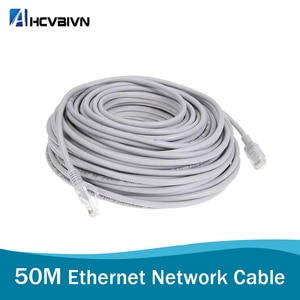1pcs 50M 164ft Cat5 Ethernet Network Cable RJ45 Patch Outdoor Indoor Waterproof LAN Cable Wires For CCTV POE IP Camera System