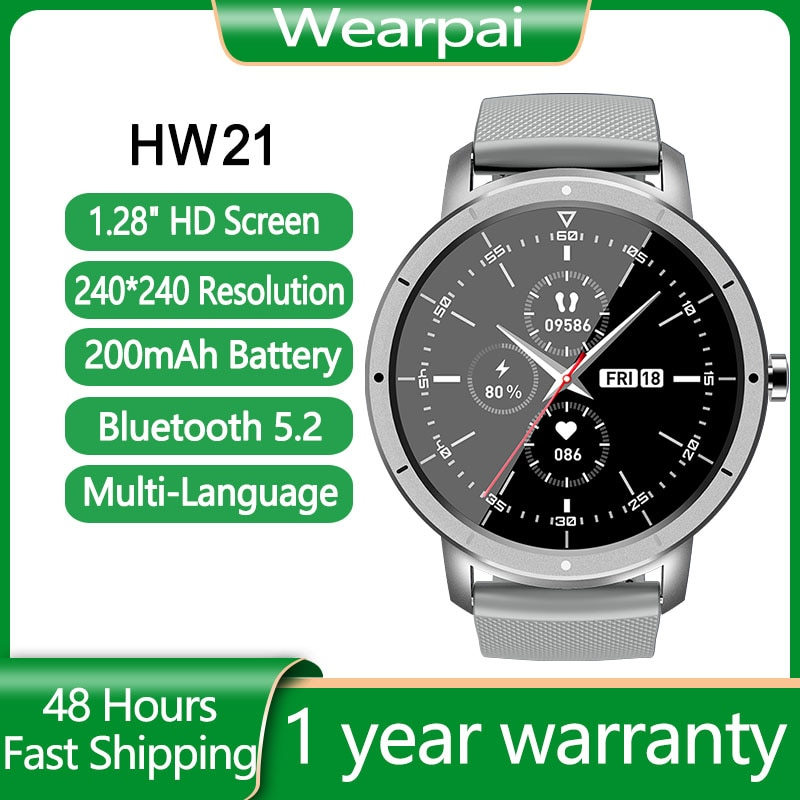 HW21 الذكية الفرقة النساء الرجال الصحة ساعة مراقب معدل ضربات القلب الصلب حزام اللياقة البدنية بالبلوتوث المقتفي ساعة تنبيه ل iOS أندرويد