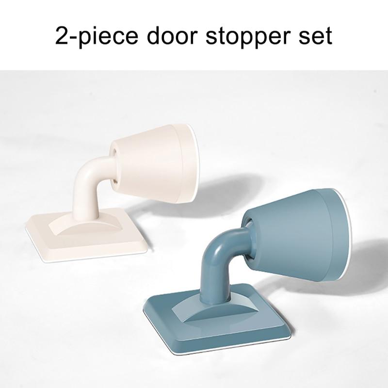 Silicone Stops Door Handle Silencer Wall Protectors Door Stopper For Anti-Collision Silicone Doorknob Cushion Door Stopper