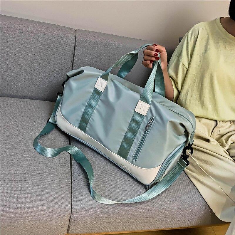 حقيبة سفر كبيرة حقيبة رياضية محاولة على الفصل الرطب متعددة الوظائف حقيبة يد حقيبة مضادة للماء المقصورة حمل حقيبة