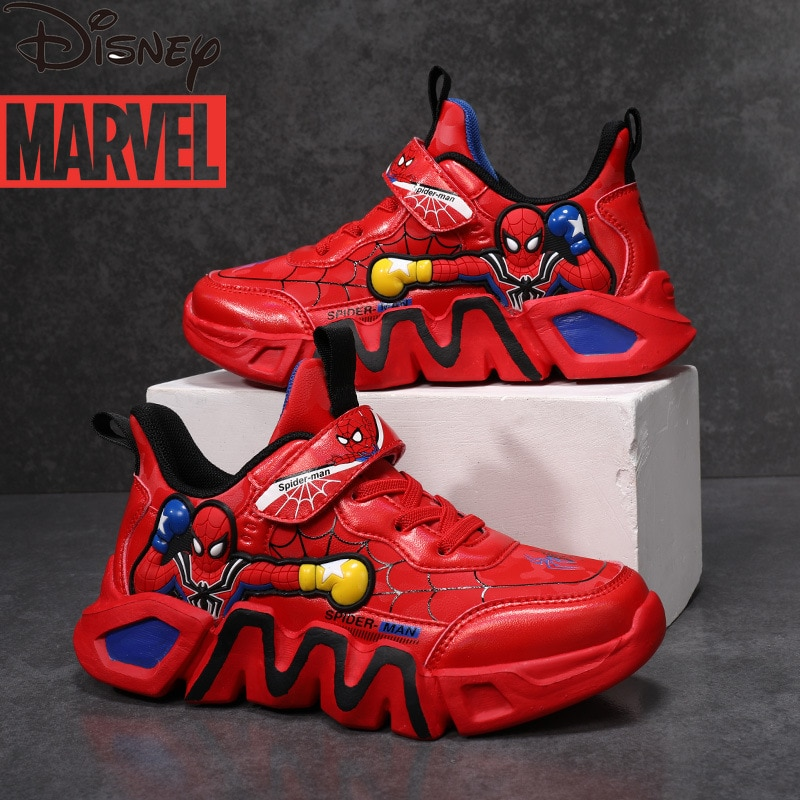 Marvel's Spider-Man shoes boys' new children's casual sports shoes toddler boy shoes