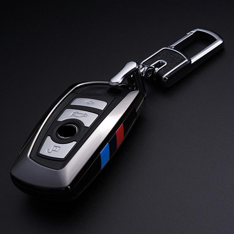 Car Keychain For BMW Key Case F30 F10 For Bmw F30 F20 for bmw X3 X4 Series Car Key Cover Leather Key
