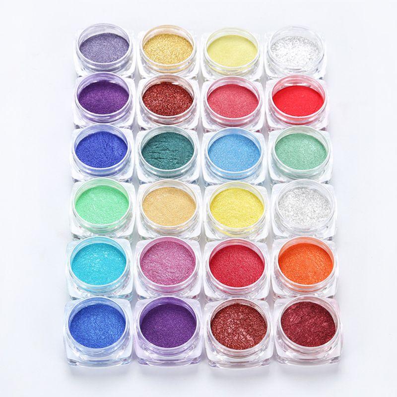 12 Colors Mica Powder Epoxy Resin Dye Pearl Pigment Natural Mica Mineral Handmade Soap Coloring Powder