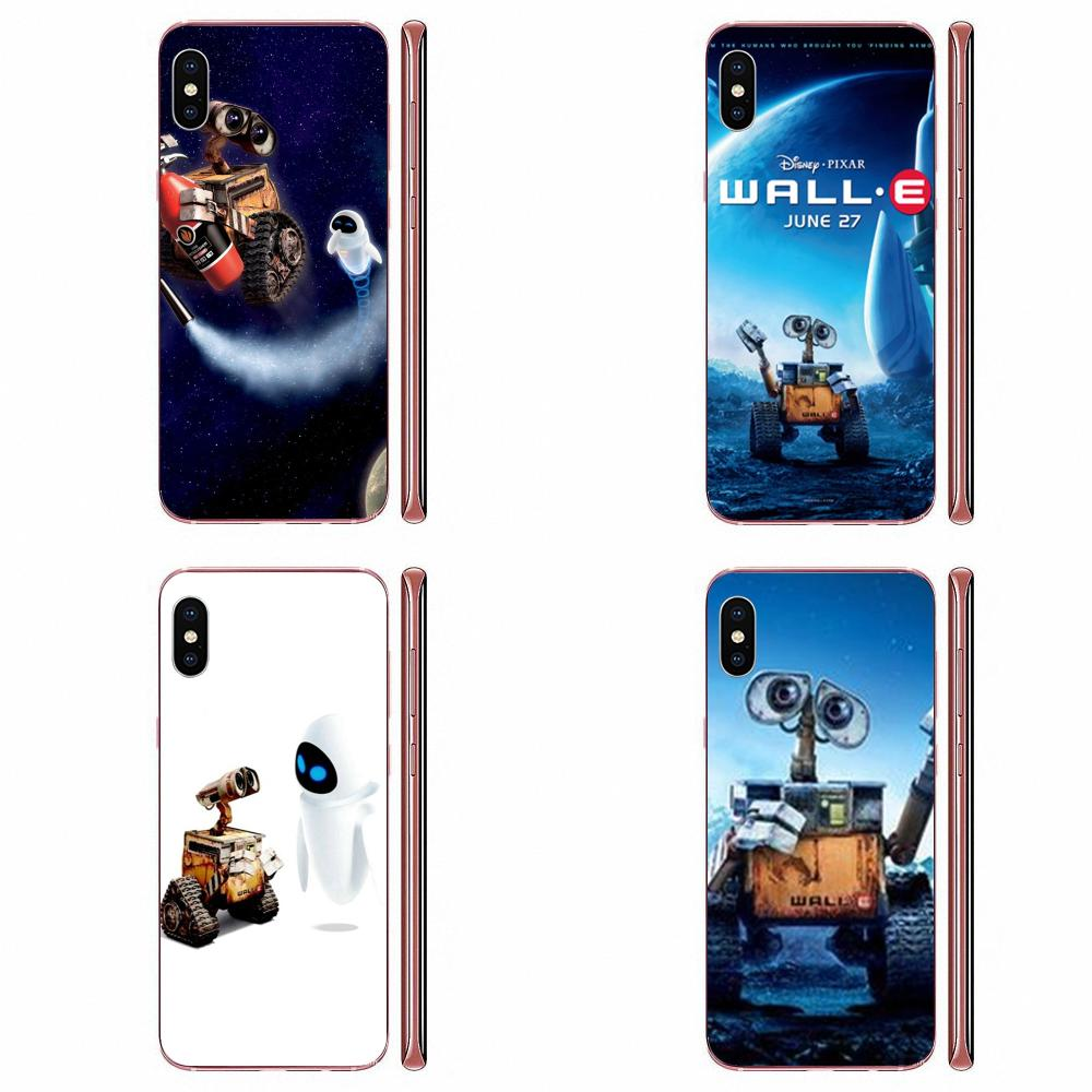 La piel suave pintura Wall-e Robot pared E película para Huawei Nova 2 V20 Y3II Y5 Y5II Y6 Y6II Y7 Y9 G8 G9 GR3 GR5 GX8 primer 2018 de 2019