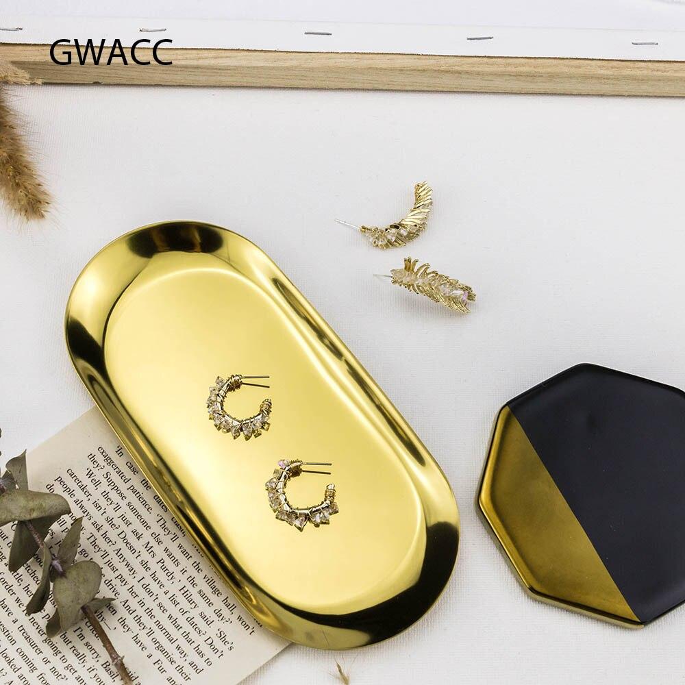 INKDEW New Arrival Wing Shape Crystal Metal Drop Earrings For Women Girl Gold Color Round Original Long Earrings Fashion Jewelry