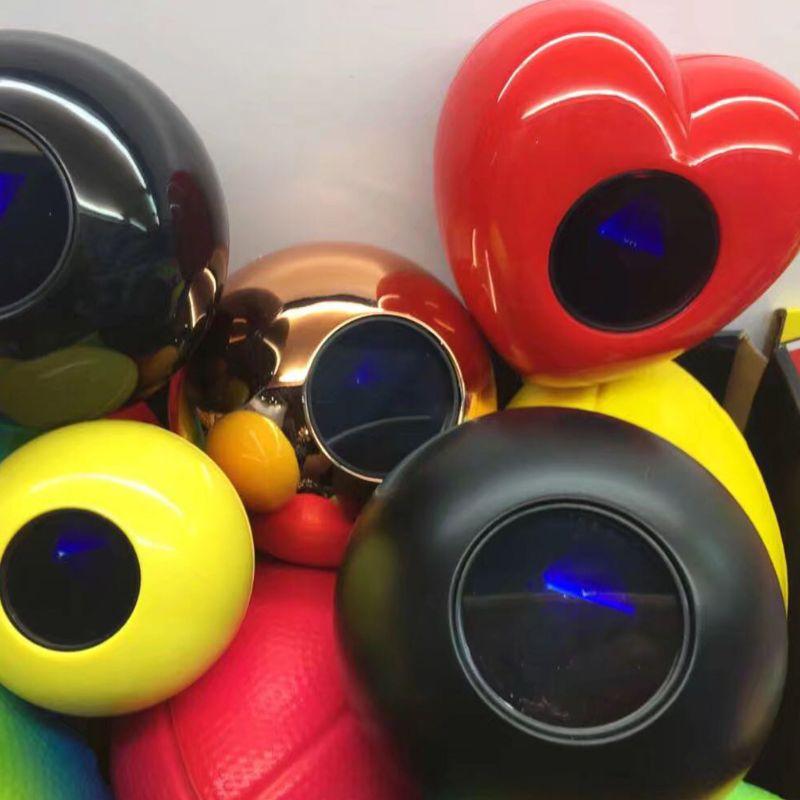 Juguete esférico K92D para niños, accesorio de fiesta, BOLA MÁGICA negra 8