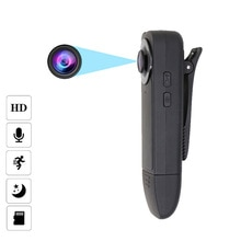 JOZUZE Wearable HD 1080P Mini Camera Video Recorder  Night Vision Motion Detection Small Security Ca