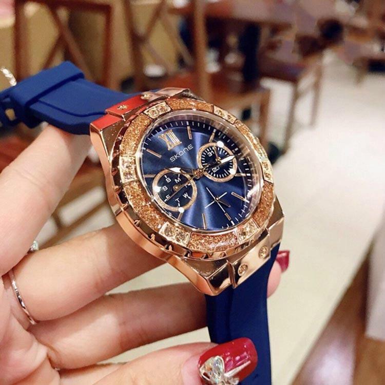 20mm coffee brown silicone jelly rubber unisex watch band straps wb1072s20jb Sport Wrist Watch Luxury Valentine Gift Unisex Silicone Rubber Jelly Gel Quartz Analog Wristwatches Relogio ladies SKONE