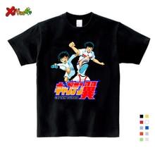 Anime Captain Tsubasa T Shirt Children Leisure Short Sleeve T Shirt Boy Football Motion T-shirts for Boys Girls Clothes 3T-9T