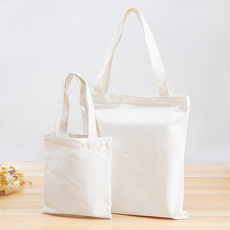 Canvas Bag Foldable Shopping Tote Home Organization and Storage