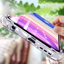 Thin Clear Transparent Phone Case For iphone 12Pro 2020 11 pro max Xs max case 6 s xr Case For iPhon