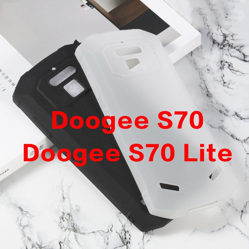 DOOGEE S70 LITE чехол ТПУ задняя крышка Чехлы Для Doogee S70 5,99