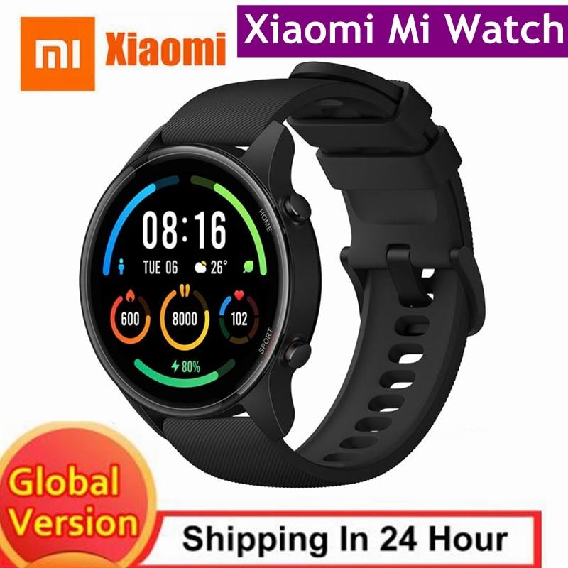 Xiaomi Mi Watch GPS Mi Smart Watch Global Version Smartwatch 2021 Bluetooth SmartWatch Fitness Heart Rate Sleep Monitor Mi Watch