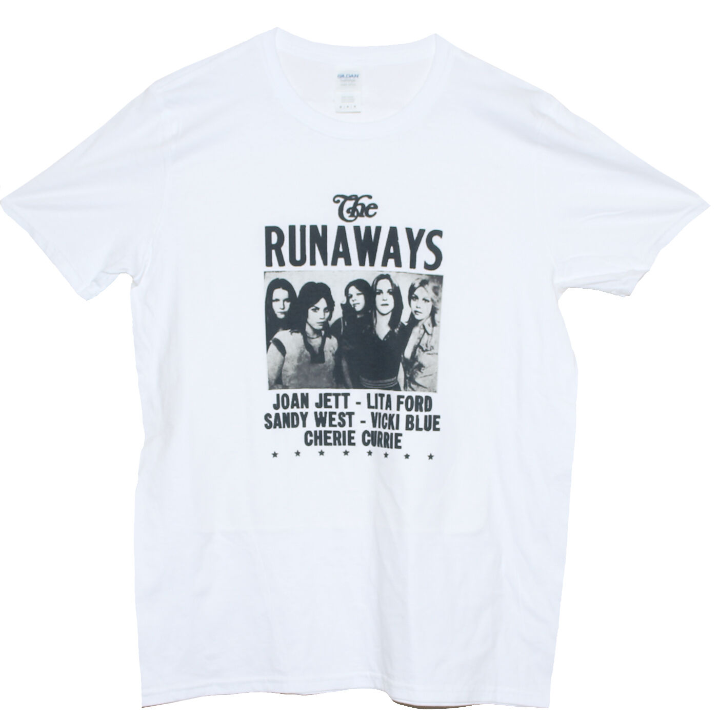 Les fugueurs t-shirt dur Rock Punk trou L7 Joan Jett Bikini tuer groupe t-shirt