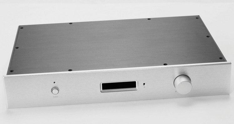 Новый AK4497EQ полностью алюминиевый DAC шасси HIFI DIY коробка 430*255*72 мм