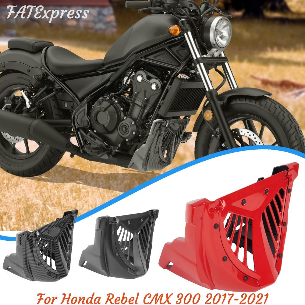 2018 2019 2020 CMX 300 محرك دراجة نارية سبويلر بطن عموم أسفل هدية تصاعد قوس لهوندا المتمردين CMX300 2017-2021