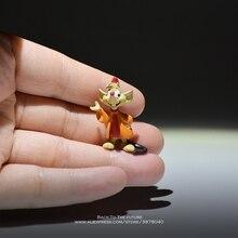 Disney Cinderella Princess mouse 3cm mini doll Action Figure Anime Mini Collection Figurine kid Toy model for children gift