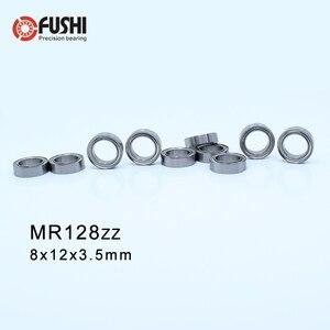 MR128ZZ ABEC-1 (50PCS) 8X12X3.5mm Miniature Ball Bearings  MR128ZZ