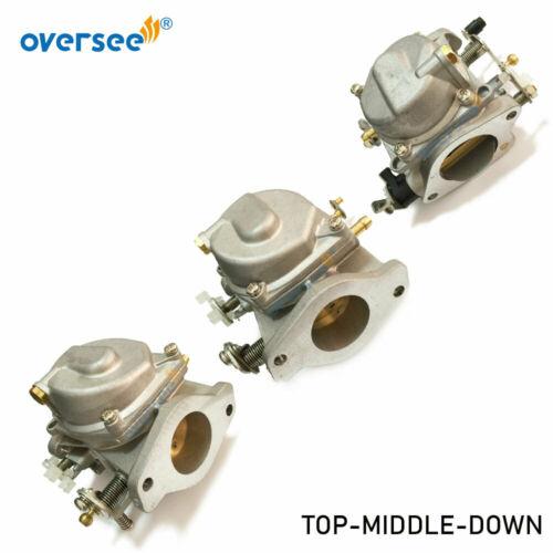 6K5-14301-01, 6K5-14301-02, 6K5-14301-03 Carburetor Kit For Yamaha 60HP E60M T60 Outboard Engine Parsun T60 Boat Motor enlarge