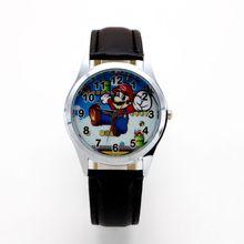 New Fashion Cartoon Super Design Doll Kids Watch Children Girls Boys Students Quartz Wristwatches Su
