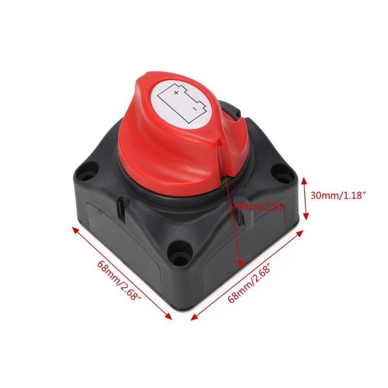 Interrupteur isolateur de batterie   Interrupteur de déconnexion dalimentation pour voitures de bateau, véhicules 600A appliqué au commutateur déquipement électrique