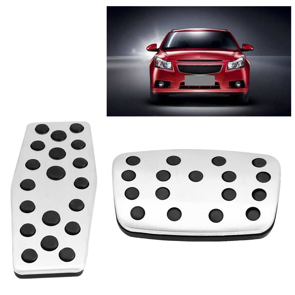 Brake Foot Pedal Automatic Transmission Car Brake Foot Pedal Cover Treadle Non-Slip Brake Foot Pedals For Chevrolet Cruz